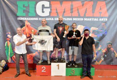 Risultati del 13° Campionato Italiano di grappling no-gi FIGMMA 5
