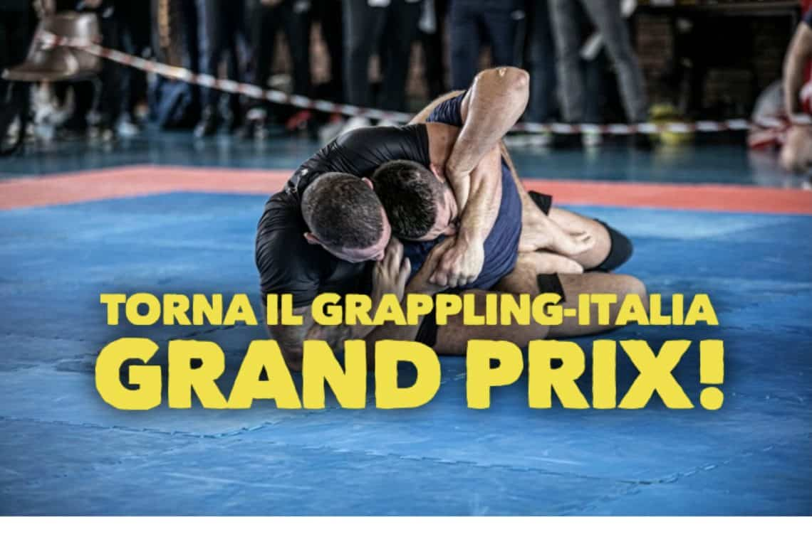 Torna il Grappling-Italia Grand Prix! Iscrizioni aperte 1