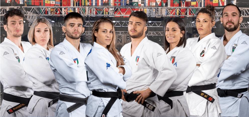 Sorteggio per i judoka azzurri 1