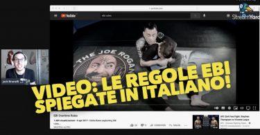 VIDEO: le regole EBI spiegate in italiano! 10