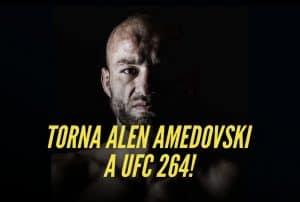 Ritorna in UFC Alen Amedovski, l'italo-macedone con mani d'acciaio 2