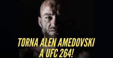 Ritorna in UFC Alen Amedovski, l'italo-macedone con mani d'acciaio 1