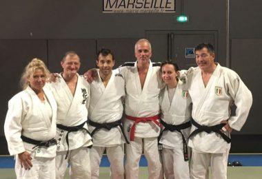Ripresa anche per il judo master 5