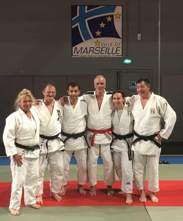 Ripresa anche per il judo master 1