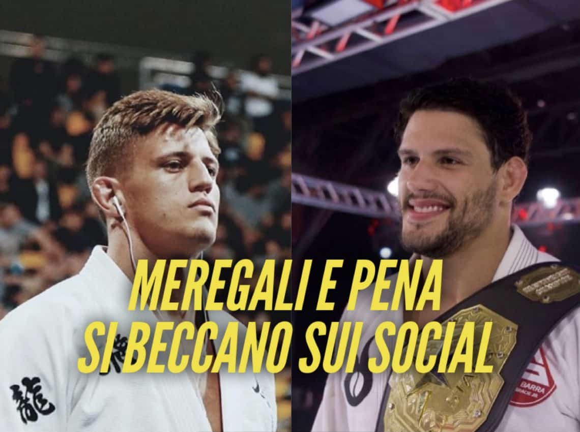 Meregali e Felipe Pena alimentano la rivalità sui social 1