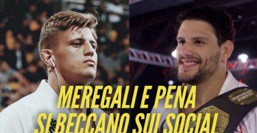 Meregali e Felipe Pena alimentano la rivalità sui social 5