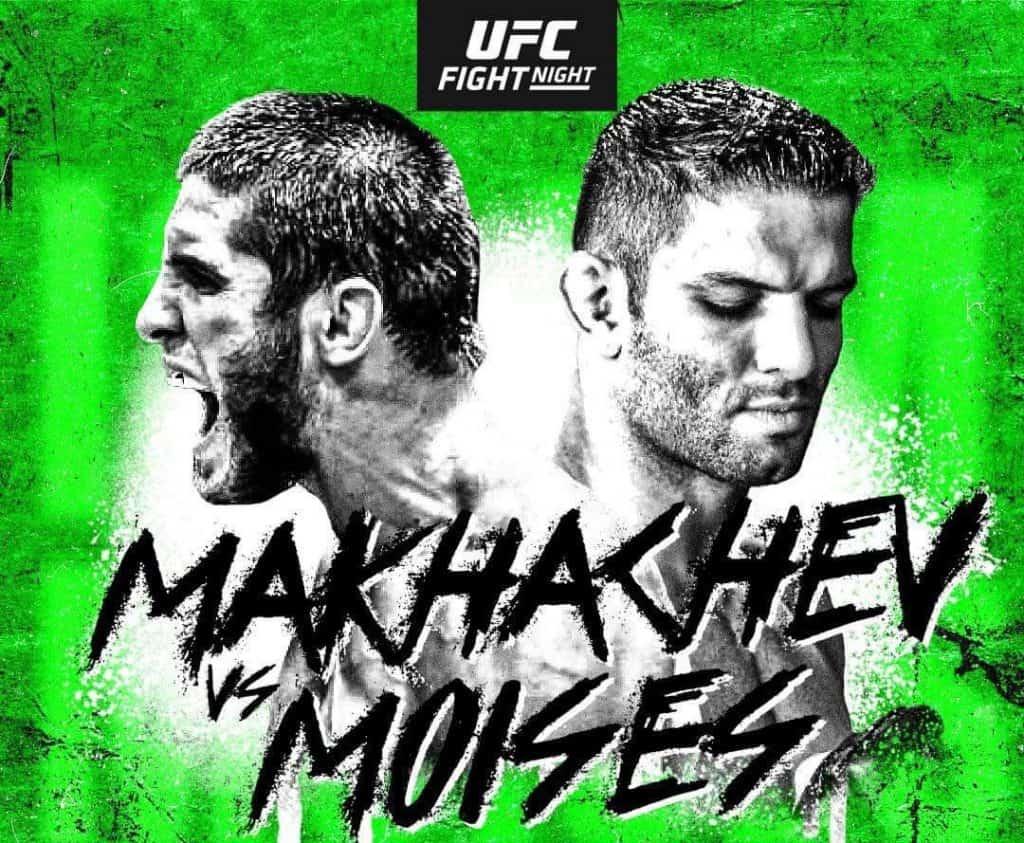 UFC on ESPN: Makhachev vs. Moisés 2