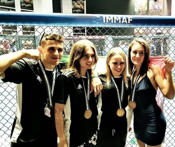 4 bronzi italiani ai Mondiali IMMAF 1