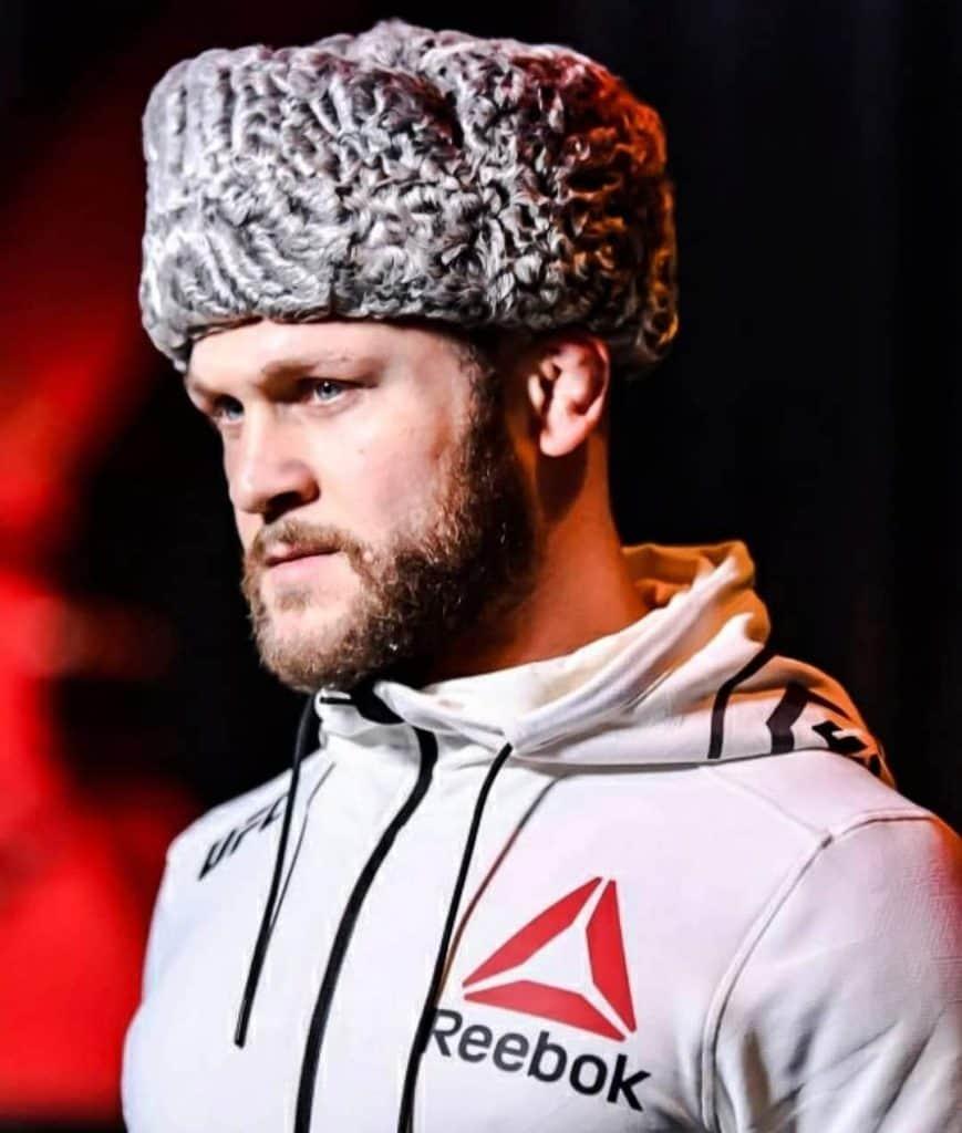 Rafael Fiziev durante il suo walkout
