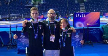 Argento di Lucia Beccaro e bronzo di Marco Galli ai Mondiali di grappling UWW 2021 2