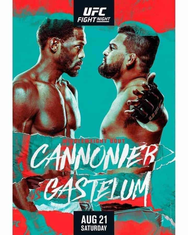 UFC on ESPN 29: Cannonier vs Gastelum 1