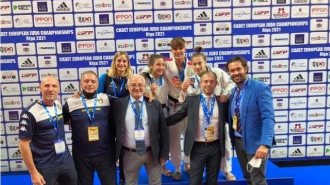 Europei di judo cadetti a Riga 2021 11