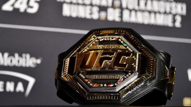 La cintura UFC