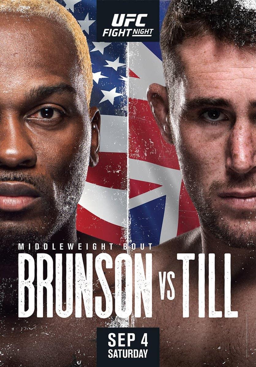 UFC Fight Night 191: Brunson vs. Till 1