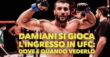 Leonardo Damiani si gioca l'ingresso in UFC: dove e quando vederlo, tutte le info 12