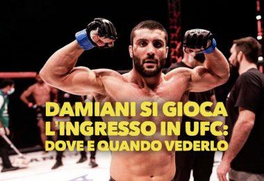 Leonardo Damiani si gioca l'ingresso in UFC: dove e quando vederlo, tutte le info 5