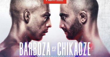 Risultati UFC: Barboza vs Chikadze. Di Chirico, che peccato! 1