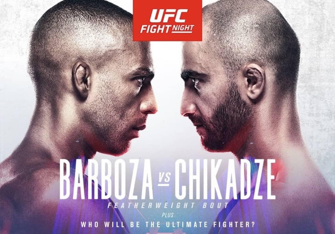 Risultati UFC: Barboza vs Chikadze. Di Chirico, che peccato! 3