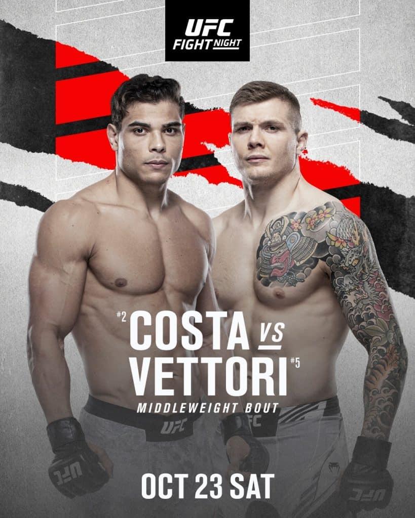 Poster ufficiale Costa vs Vettori