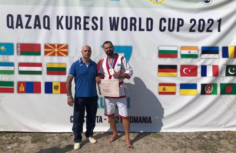 Bronzo per Alessio Pasciulli alla World Cup di Qazak Kuresi 2021 1