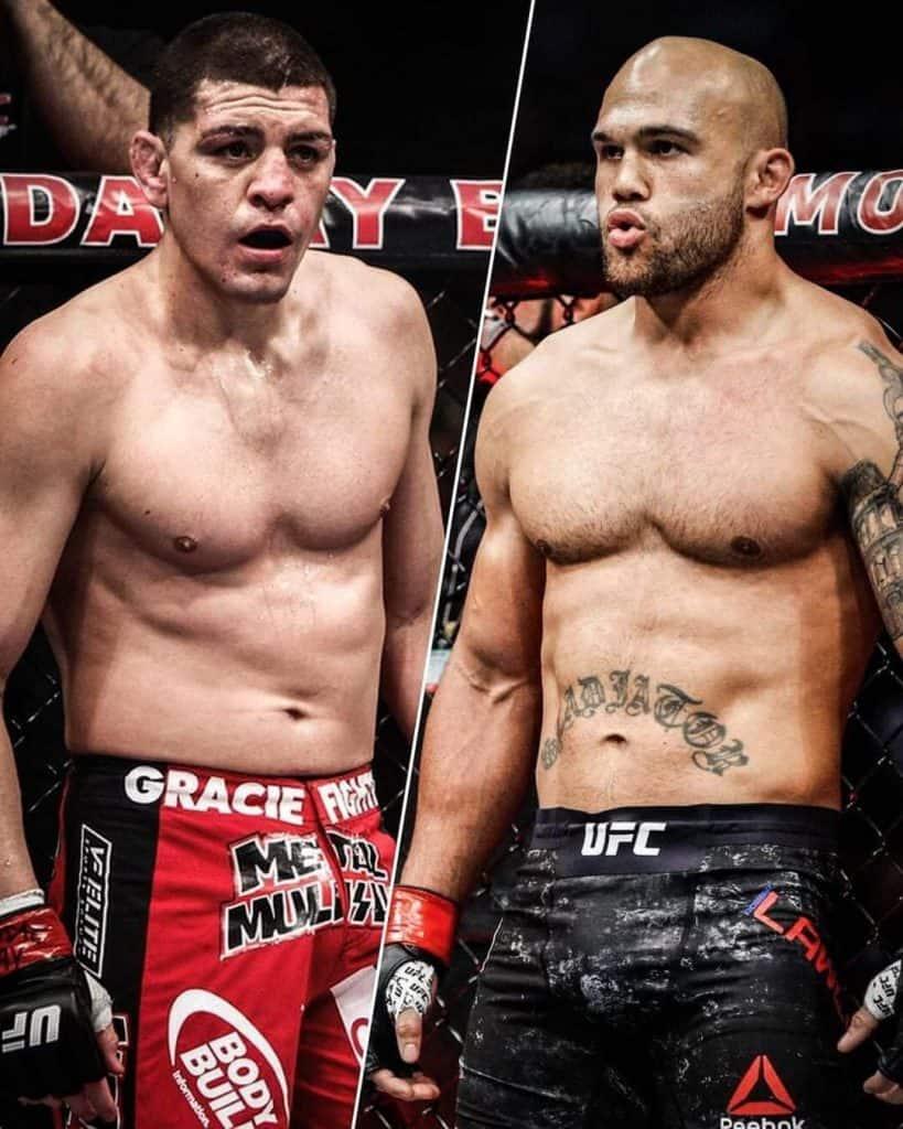 Nick Diaz vs Robbie Lawler - 185 libbre, 5 round