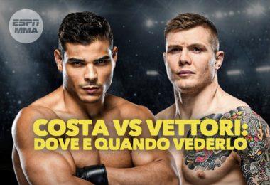 UFC: Vettori vs Costa, dove e quando vederlo e tutte le info 5