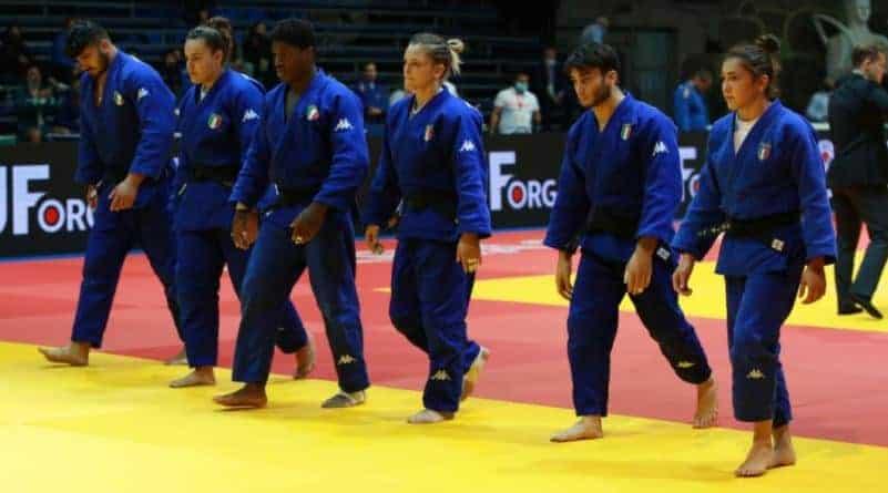 Buona l'Italia junior ai Mondiali di judo a Olbia 2021 1