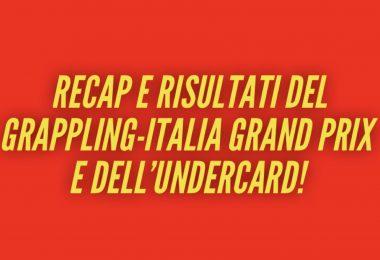 Recap e risultati Grappling-Italia Grand Prix 3