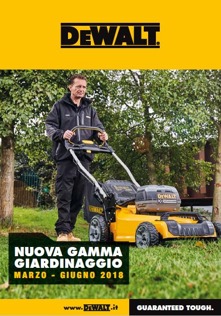 Dewalt Giardinaggio 54V e 18V - Valido fino al 30-06-2018