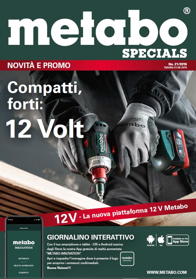 Volantino Metabo - Validità giornalino fino al 31-08-2019