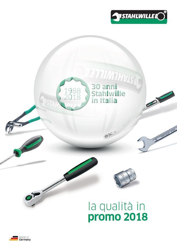 Volantino Stahlwille - Valido fino al 31-12-2018