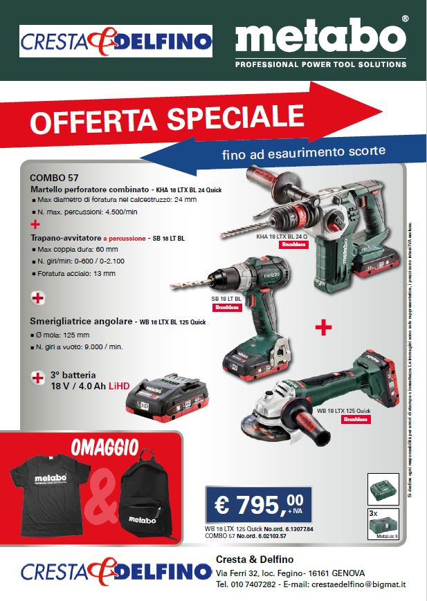 OFFERTA METABO - cover