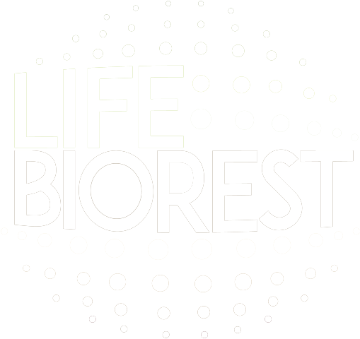 lifebiorest logo white