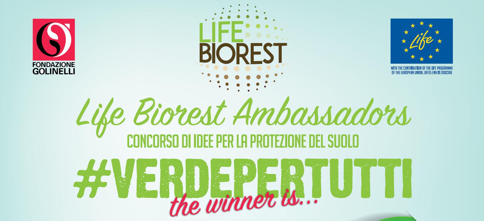 Life Biorest Ambassador award - cover