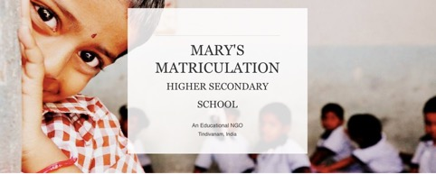 Mary's Matriculation - India - cover