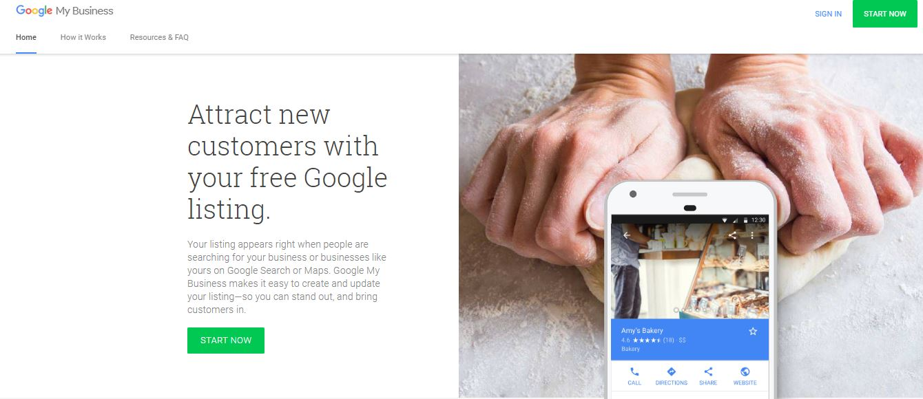 creare account google mybusiness