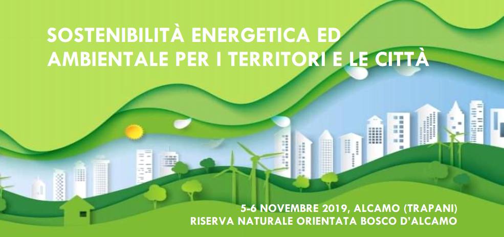 Sostenibilità energetica ed ambientale per i territori e le città - cover