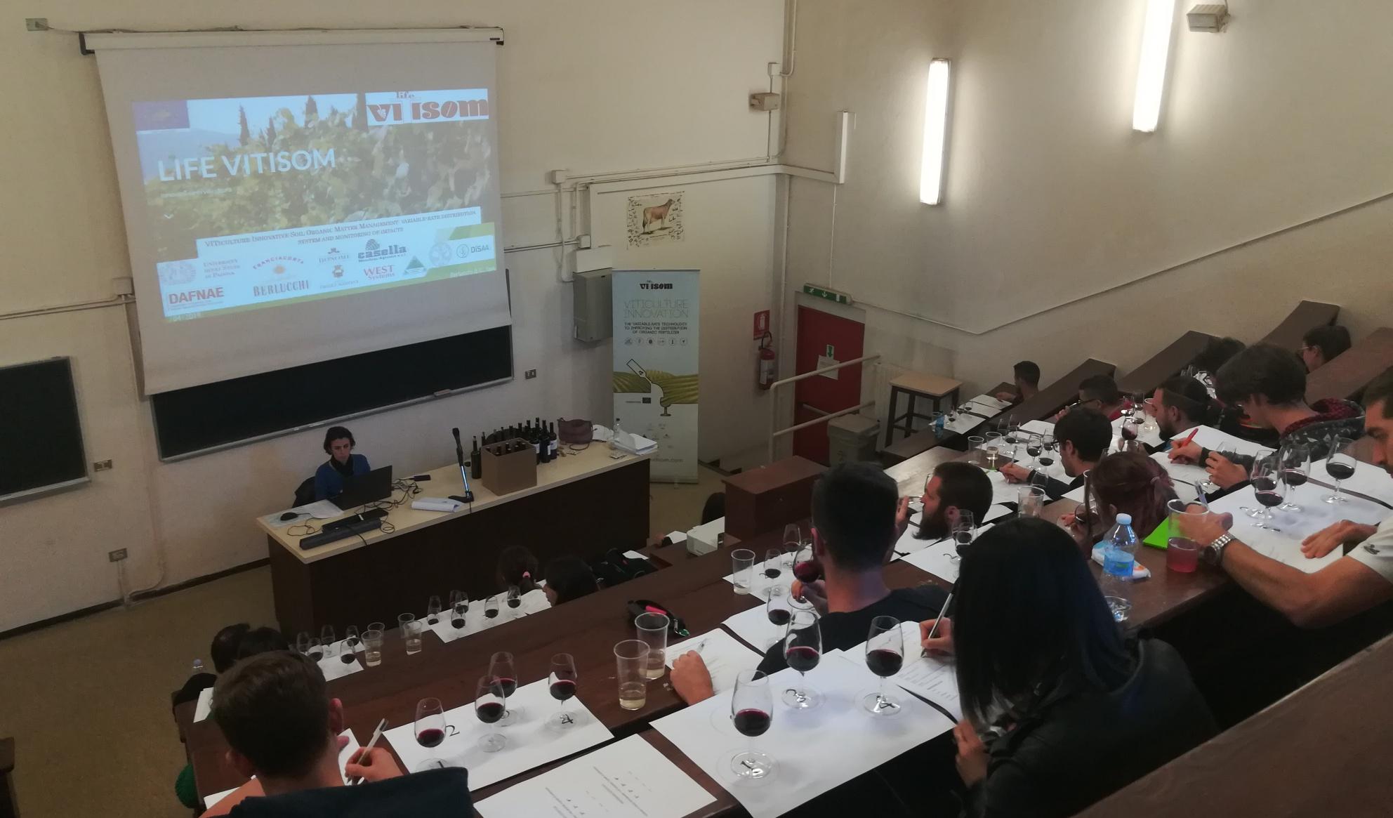 Un seminario su viticoltura ed enologia - cover
