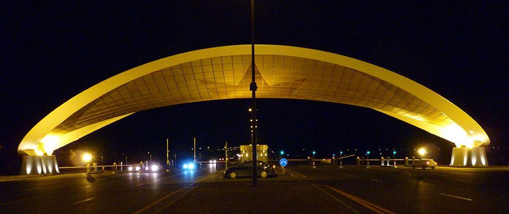 Barrera de Peaje del Aeropuerto Baku