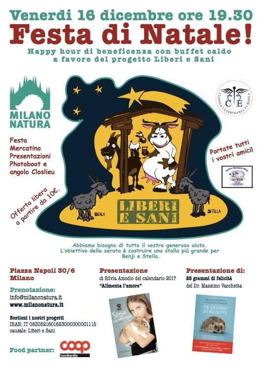Festa di Natale! Happy hour per Milano Natura