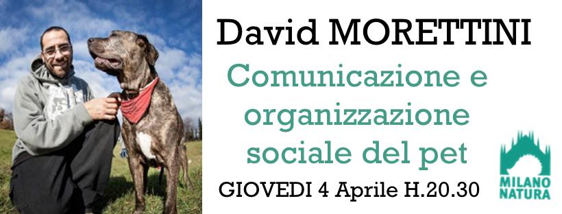 Comunicazione e organizzazione sociale del pet