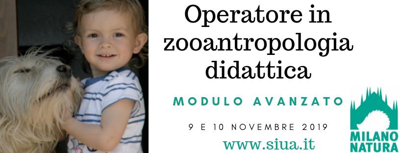 Operatore in zooantropologia didattica - Siua