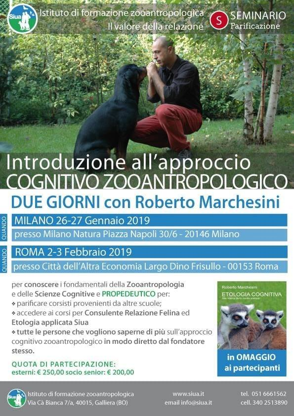 Introduzione all'approccio COGNITIVO ZOOANTROPOLOGICO - cover