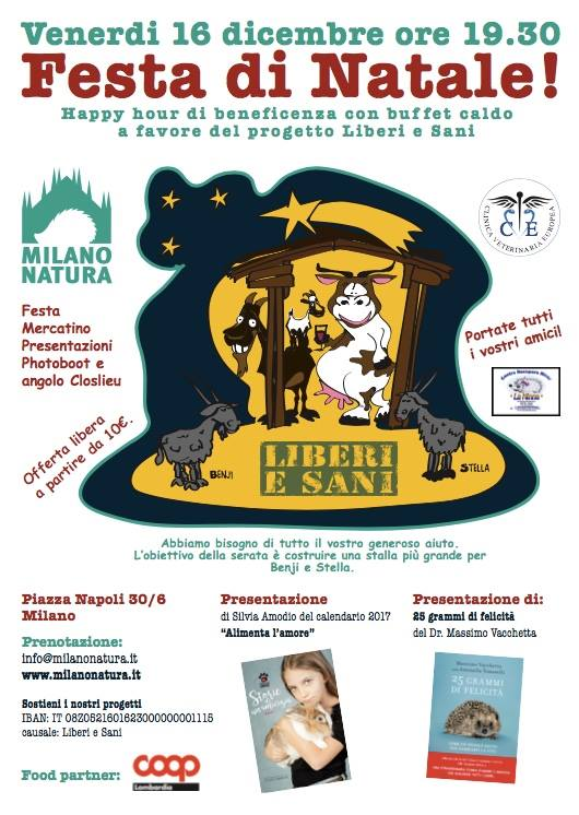 Festa di Natale! Happy hour per Milano Natura - cover