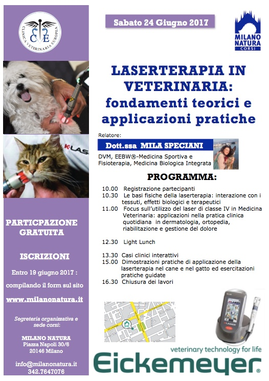 LASERTERAPIA IN VETERINARIA - cover
