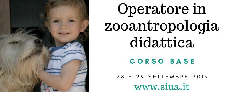 Operatore in zooantropologia didattica - Siua - cover