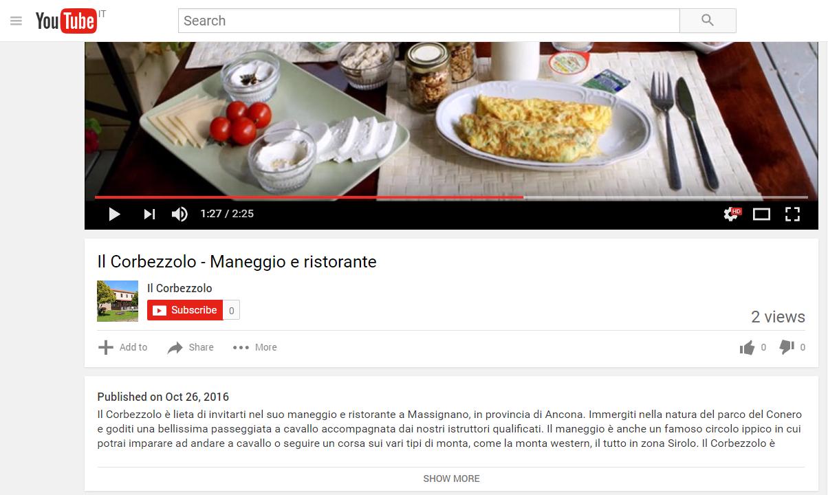 ottimizzazione youtube
