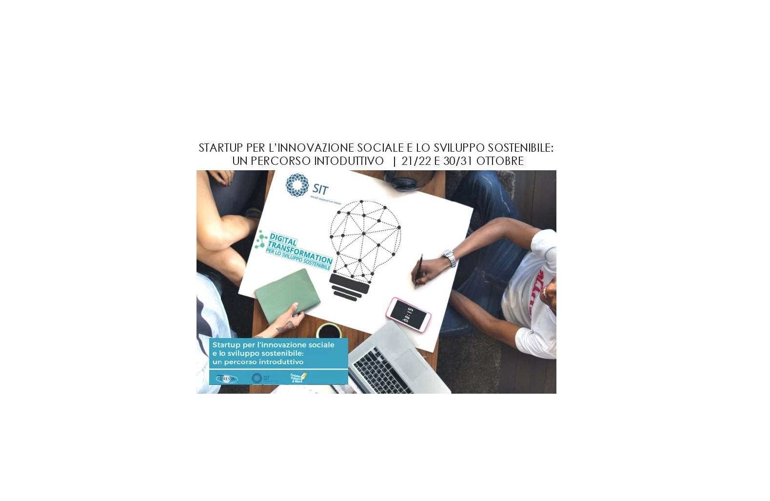 Progetti di formazione sul tema imprenditorialità sociale - cover