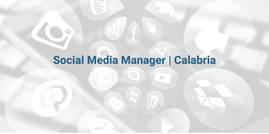 SOCIAL MEDIA MANAGER - cover