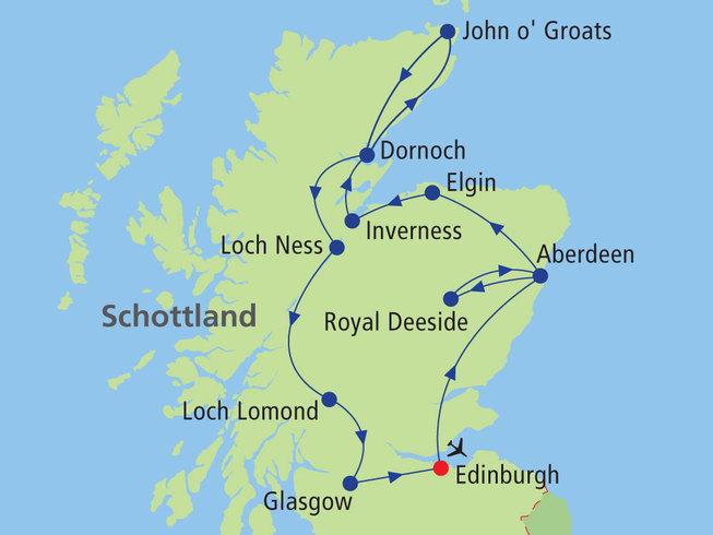 Schottland rundreise 2020